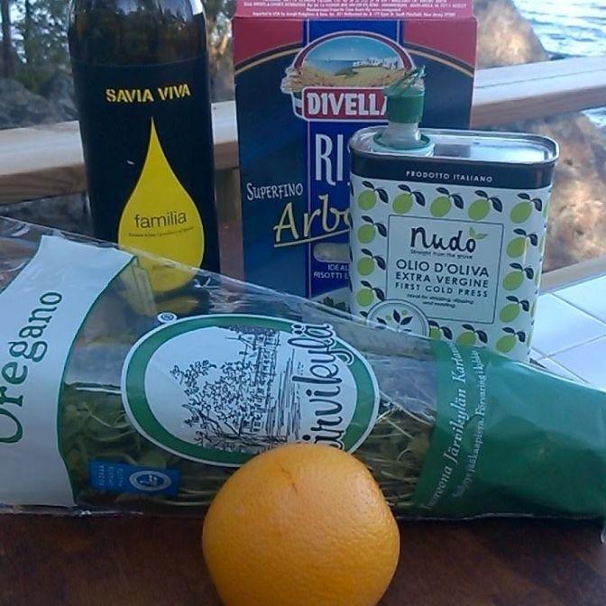 Risoton valmistuksesta ja appelsiinirisoton ohje