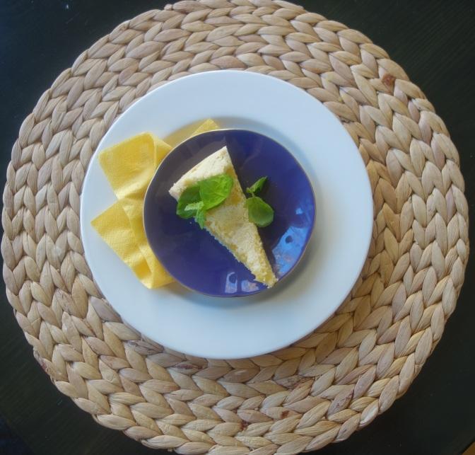 Sitruunapiiras eli Lemon tart