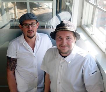 Matias Persson ja Tuomas Pesonen