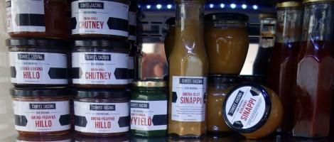 Ravintolan omat mausteet ovat kaupan