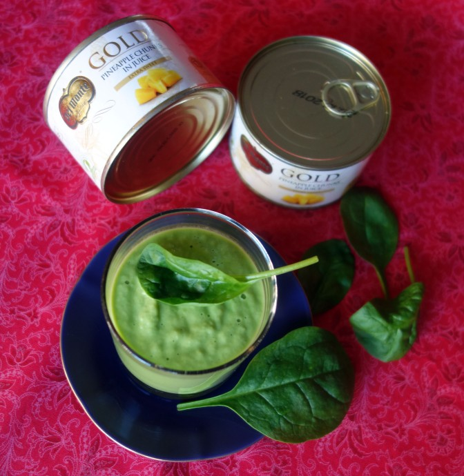 Del Monte Gold – Helpot ja herkulliset ananas-smoothiet