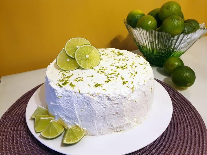 Lime-Mascarponekakku